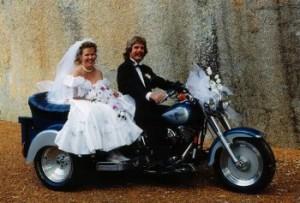 Esküvő Harley Davidson