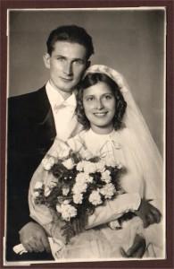 esküvői fotó - nagyszüleim